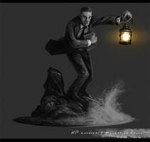 HP Lovecraft Marker by TentaclesandTeeth