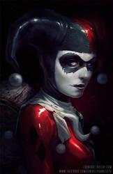 Harley Quinn by TentaclesandTeeth