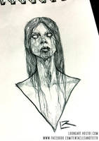 Possessed Woman sketch by TentaclesandTeeth