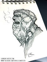 Devoted Cultist sketch by TentaclesandTeeth