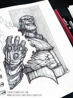 Thanos by TentaclesandTeeth