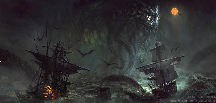 Dark Regions Cover by TentaclesandTeeth