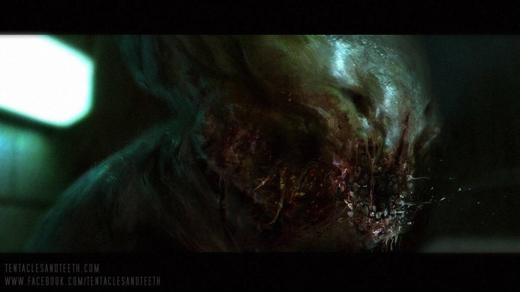 Laboratory creature by TentaclesandTeeth