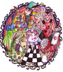 Macurris In Wonderland by Huissi