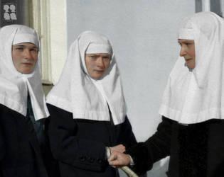 Sisters of Mercy: The Sisters Romanova by UnmountedCossack
