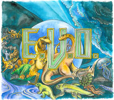 EVO: Search for Eden by KatieClarkArt