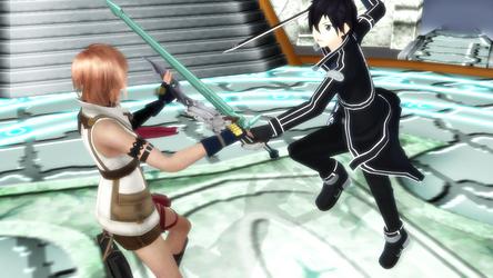 SAO FFXIII Crossover event by slyfan1030