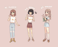 REDUCED PRICE [ closed ] AUTUMN ADOPTS by chihaki