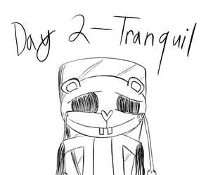Inktober-Day 2-Tranquil Agony by Midnight-Lovestruck