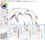 Paint Tool SAI. Crayon Settings by ayashige-doodles