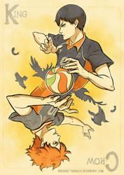 Haikyuu!! - Teamwork by ayashige-doodles