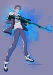 Sniper Lance by ayashige-doodles
