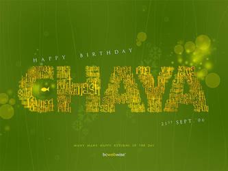 happy birthday, Dear Boss by Bheeshoom
