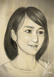 Ayana Shahab JKT48 by Fihril