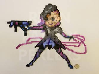 Overwatch: Sombra Perler by jrfromdallas