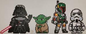 Star Wars Perlers by jrfromdallas