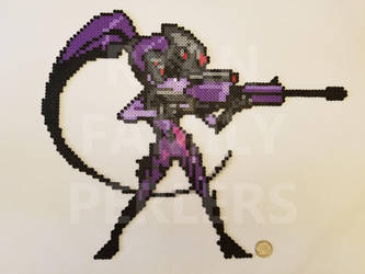 Overwatch: Widowmaker Perler by jrfromdallas