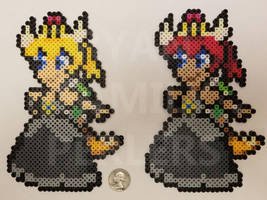 Bowsette Perlers by jrfromdallas