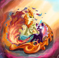 Autum Blaze [MLP] by eriadu