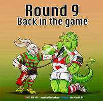 Souths V Dragons by mizza88