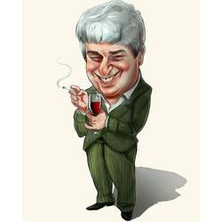 caricature by mizza88