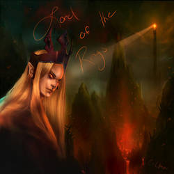 Lord Of The Rings Sauron by C-cTwo