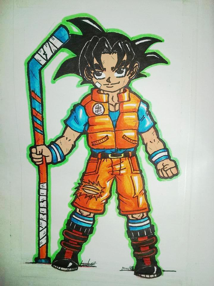 Goku by All-XTJ
