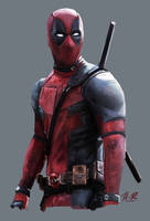 Deadpool by wickedevilbunny