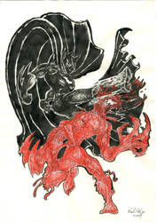 Bruce vs Cletus by Hullingen