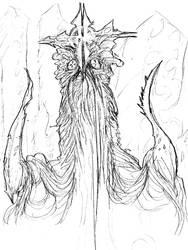 King Cthulhu by Hullingen