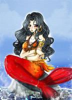 Miu the little mermaid by BriniChan