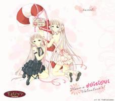 Valentine Chobits by TheBlueLummox