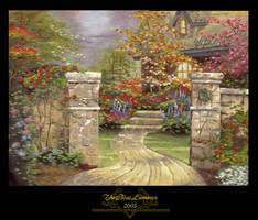 ::: Cottage Garden ::: by TheBlueLummox