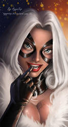 Black Cat by AyyaSAP