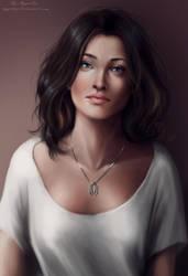 Miranda Lawson by AyyaSAP
