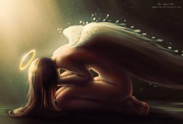 Sad Angel by AyyaSAP