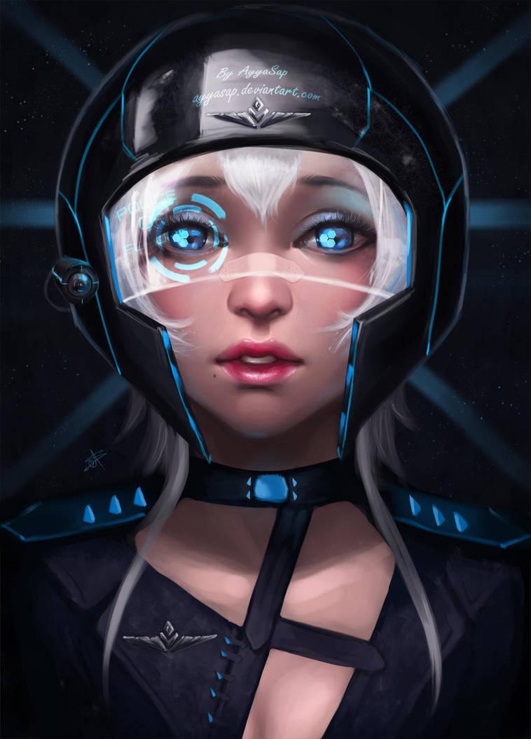 Future police by AyyaSAP