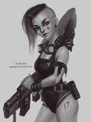 Punk Girl (concep) by AyyaSAP