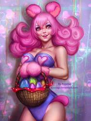 Easter Bunny by AyyaSAP