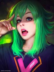 Pokemon Cosplay Girl (photo study) by AyyaSAP