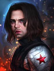 Winter Soldier (Comission) by AyyaSAP