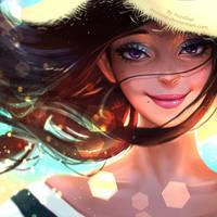 summer smile by AyyaSAP