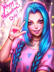 Jinx (Happy Valentines Day!) by AyyaSAP