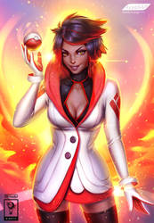 Candela (Team Valor leader) by AyyaSAP