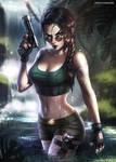 Lara Croft by AyyaSAP
