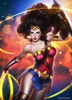 Wonder Woman by AyyaSAP