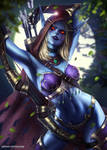 09/5/ Lady Sylvanas by AyyaSAP