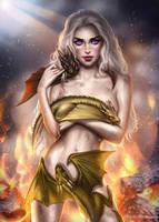 10/2/ Daenerys Stormborn by AyyaSAP