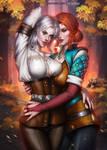 Ciri X Triss by AyyaSAP