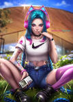 Music lover Jinx by AyyaSAP
